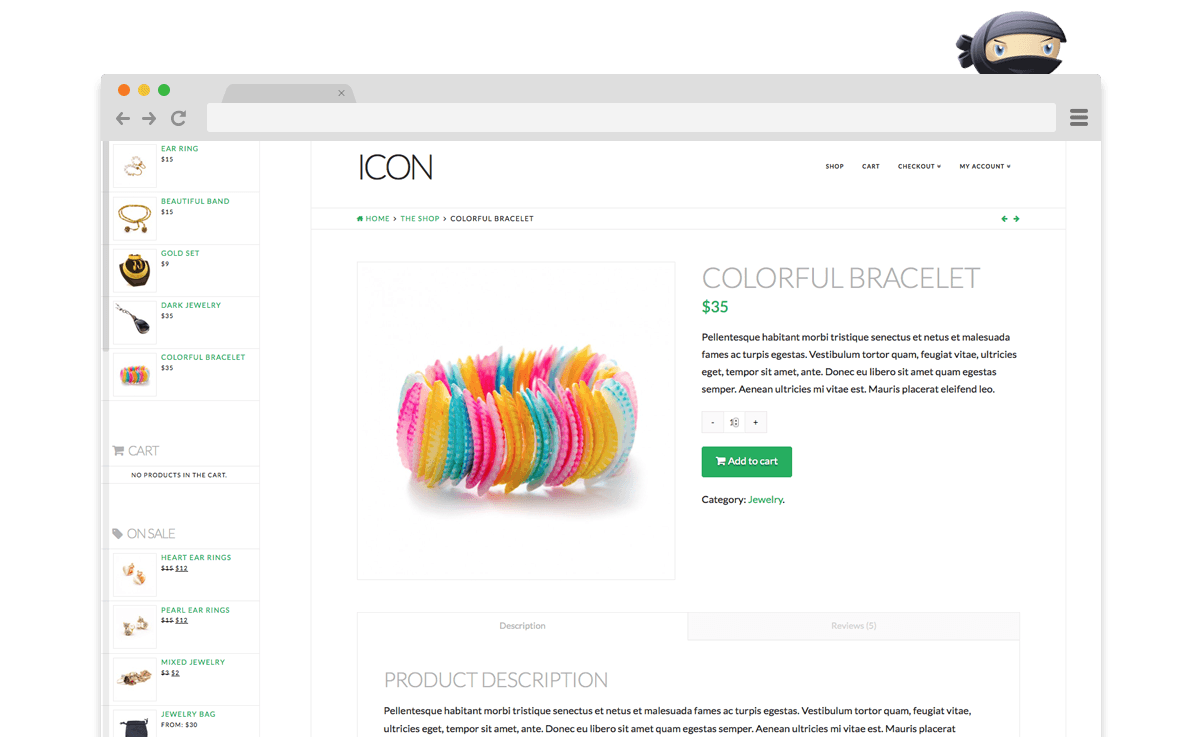 Icon WooCommerce