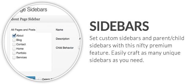 - x feature small sidebars - X | The Theme